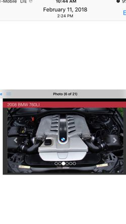 2008 BMW 7 Series Thumbnail
