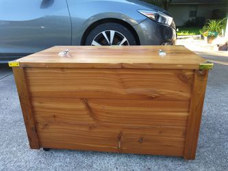 Handcrafted Wooden Chest Thumbnail