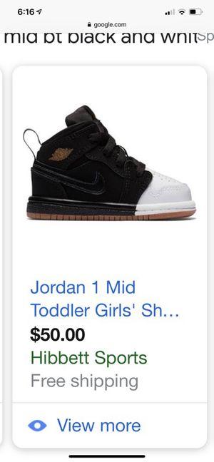 Jordan 1 mid. Toddler BOY sz 9c for Sale in Monterey Park 4ca9d4bb3