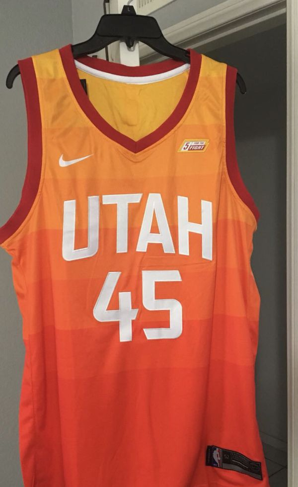new concept 7ad5b 3c608 Donovan Mitchell city Jersey men's Xl for Sale in South Ogden, UT - OfferUp