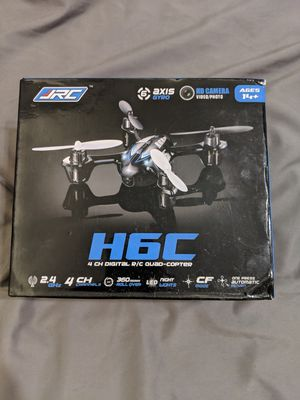 H6C quadcopter drone with camera for Sale in Los Angeles, CA