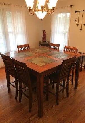 High boy dining room table for Sale in Gladys, VA