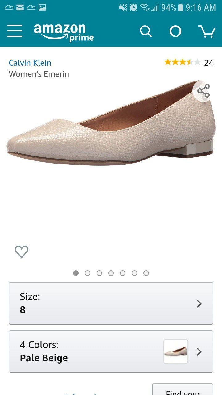 Calvin Klein Womens heels sz 9.5