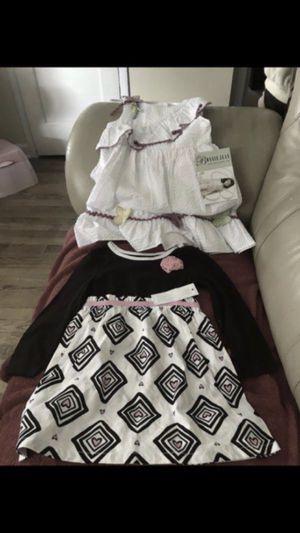 Vendo estos dos vestiditos están nuevos con etiquetas son sizes 2 y3 los 2x15 for Sale in Oxon Hill, MD