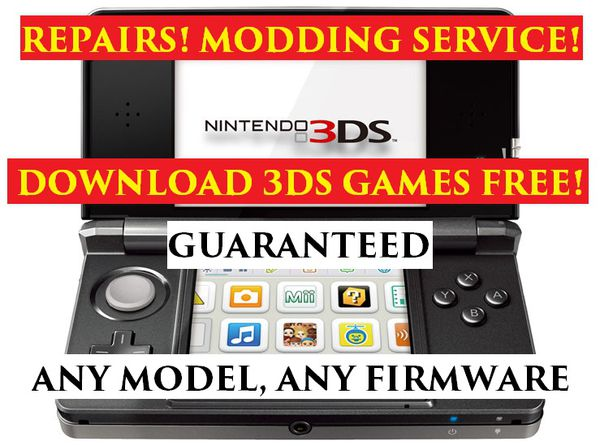 NINTENDO 3DS 2DS WII WII U REPAIRS HACKS JAILBREAKS AND MORE for Sale in  Chula Vista, CA - OfferUp