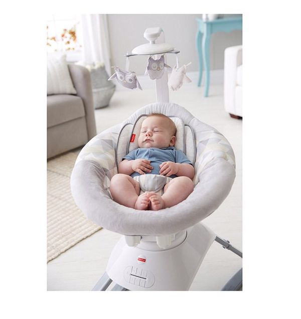 Fisher Price Smart Connect Soothing Motions Seat In Twilight