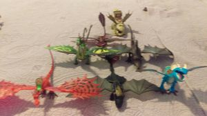 Seven dragons toys/collection for Sale in Orlando, FL