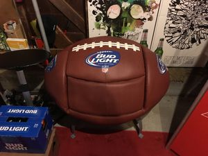 Bud Light Football Chair for Sale in St. Louis, MO