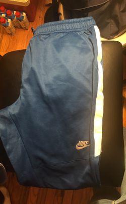Nike limited RARE blue sweats XL Thumbnail