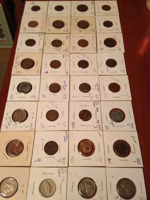 32 coin starter set. Errors for Sale in Pittsburgh, PA