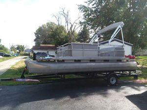 New And Used Pontoon Boat For Sale In Bloomington Il Offerup