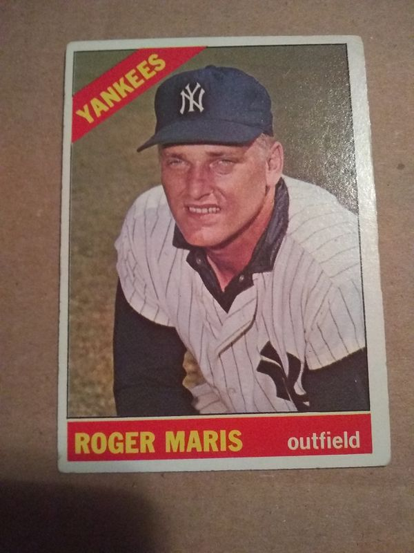 1966 Topps Roger Maris Baseball Card For Sale In Houston Tx Offerup