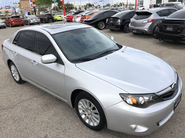 2010 Subaru Impreza, 5 speed manual transmission, clean title, clean  CARFAX! We work with good, bad or no credit  for Sale in El Paso, TX -  OfferUp