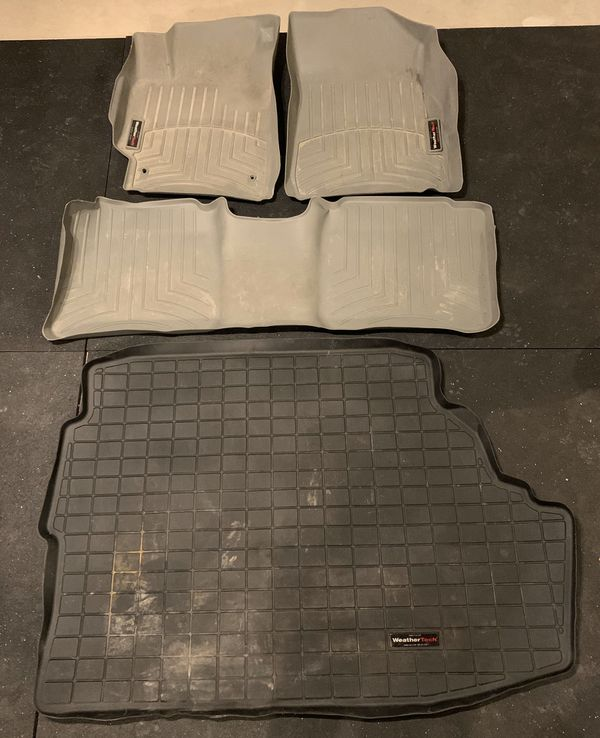 2007-2011 Toyota Camry Weather Tech Floor Mats And Trunk