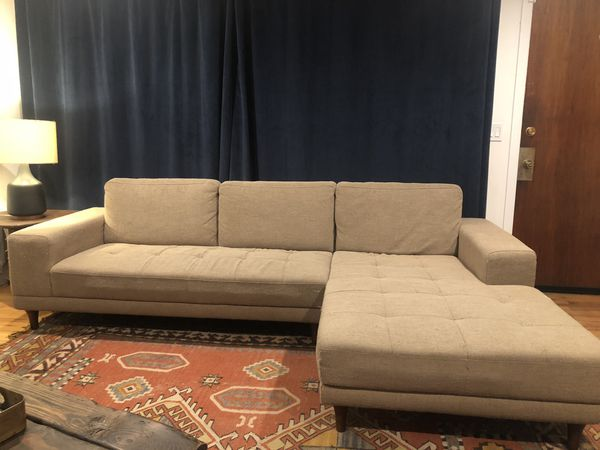 Tan Mid Century Style Sectional For Sale In Seattle Wa