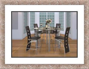 Glass dining table brand new free shipping for Sale in Fairfax, VA