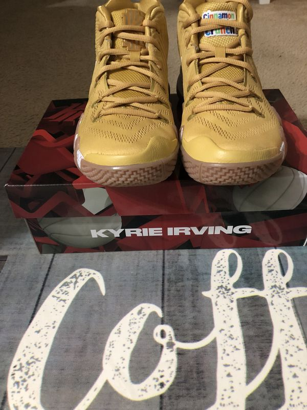 aa6f49049761 Kyrie 4 captain crunch limited addition size8 no trades at all for ...