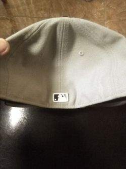 NYY MLB High Heat Gray Navy New Thumbnail