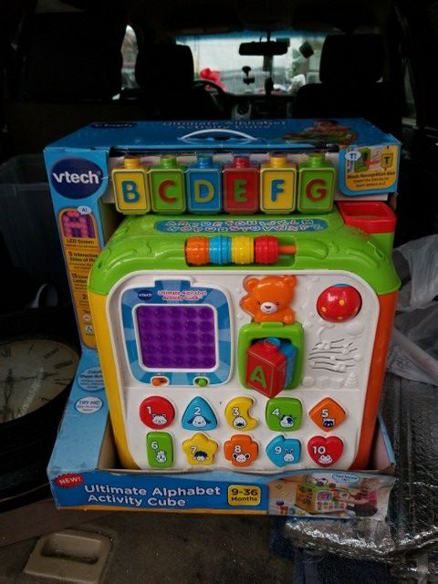 Vtech Ultimate Alphabet Activity Cube For Sale In Perth Amboy Nj
