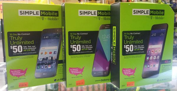 Simple Mobile Phones! Starting at $109 99!!! Plans starting at $25 a  month!!!! for Sale in Bakersfield, CA - OfferUp