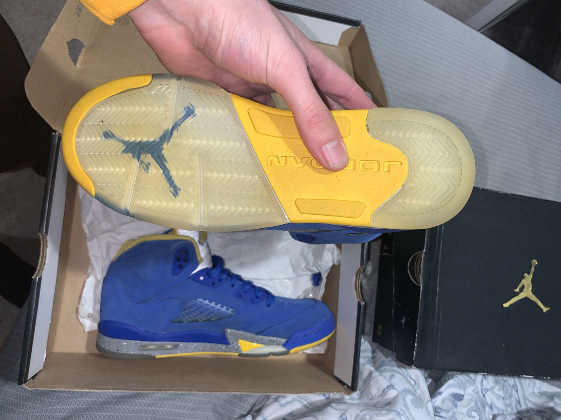 Jordan 5 Laney Size 7y