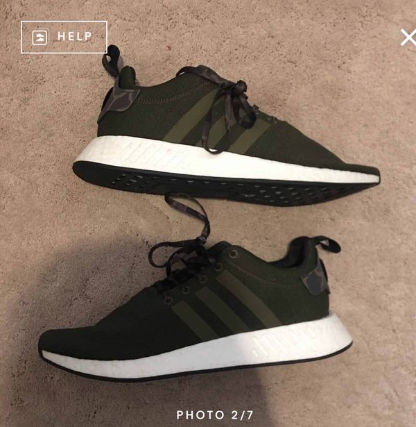 fdc753dd2 Adidas nmd R2 olive green size 12 for Sale in Marietta