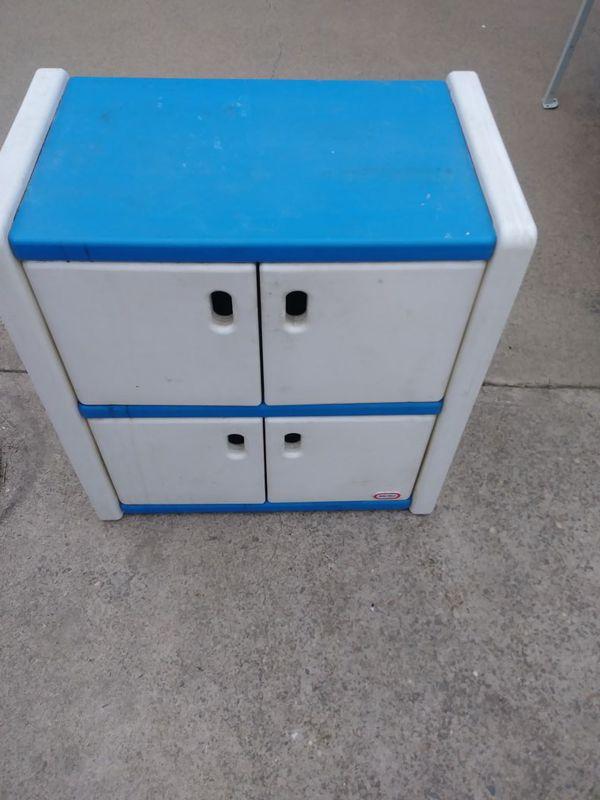 Little Tikes Bookcase Storage Unit Changing Table Closet