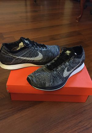 02ebd133b0783 Nike Flyknit Racer 2.0  Oreo  size 10.5 lightly used for Sale in Elk Grove