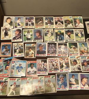 135 various collectible autographed baseball cards for Sale in Germantown, MD