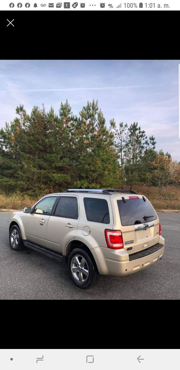 Ford Escape 2010 Limited V6 Flex Fuel For Sale In Old Town