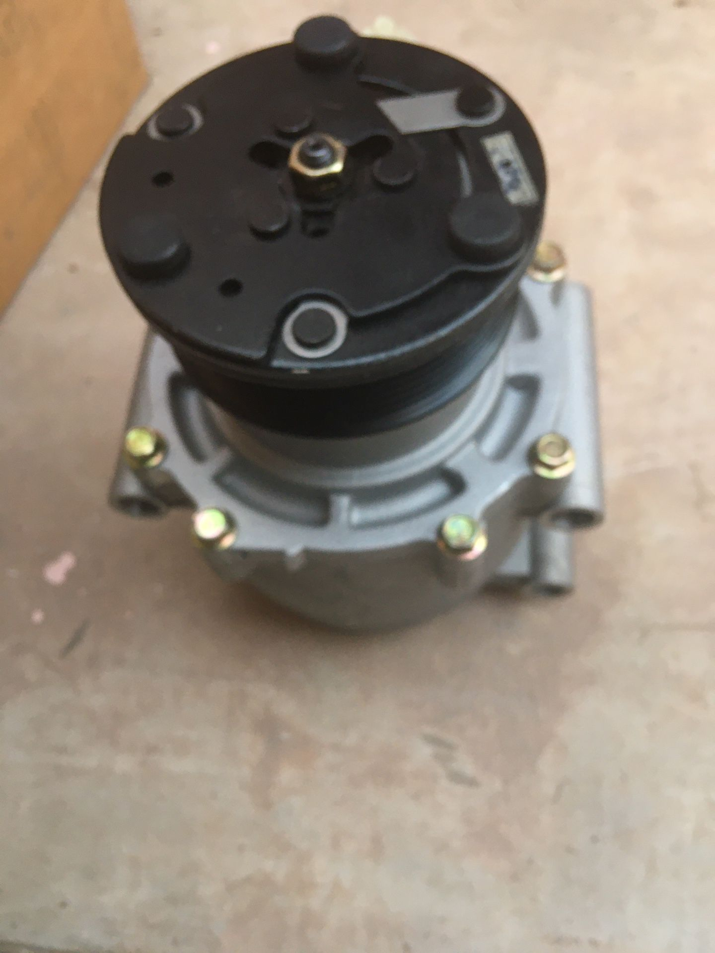 AC Compressor and drier assy-NEW DENSO Sigma JP 14-002NEW/20150708