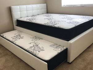 Full Twin Trundle Bed W Mattress Included For In Redlands Ca