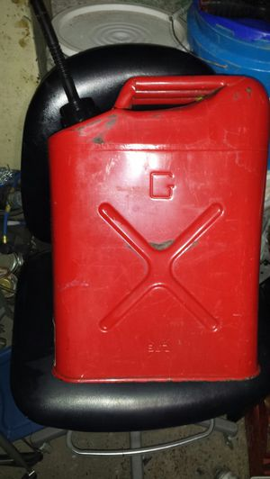 Steel Vintage Blitz USMC 5-gallon gas can for Sale in Salt Lake City, UT