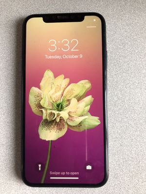 Unlocked IPhone X for Sale in Landover, MD