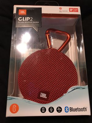 JBL Clip 2 Waterproof Portable Bluetooth Wireless Speaker for Sale in Hyattsville, MD