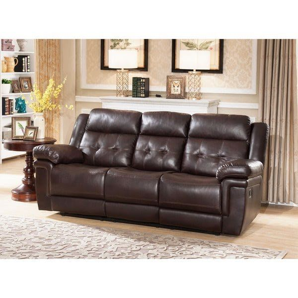 Admirable Abbyson Aubrey Ci 10801 Brn 3 Reclining Sofa With Drop Down Console For Sale In Arlington Heights Il Offerup Gmtry Best Dining Table And Chair Ideas Images Gmtryco
