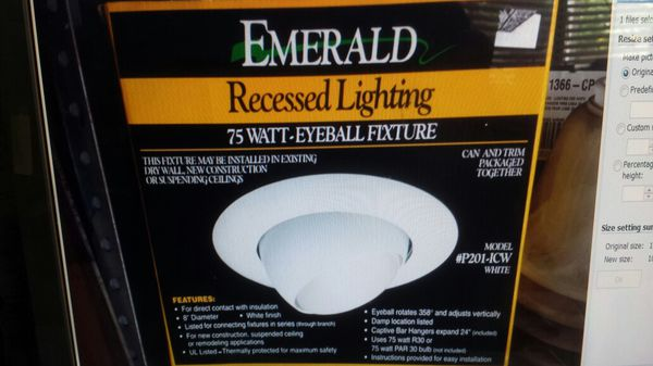 Recessed Lighting By Emerald For In Pomona Ca Offerup