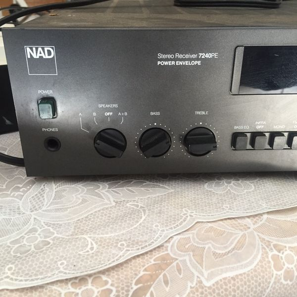 Nad 7240 pe power receiver for Sale in Elk Grove, CA - OfferUp