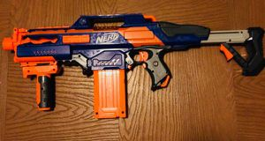 Nerf N-Strike Elite Rapidstrike CS-18 Blaster for Sale in Frederick, MD