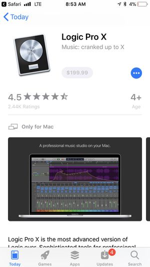 Logic Pro X W/ Waves Mercury Plug-ins for Sale in Miami, FL
