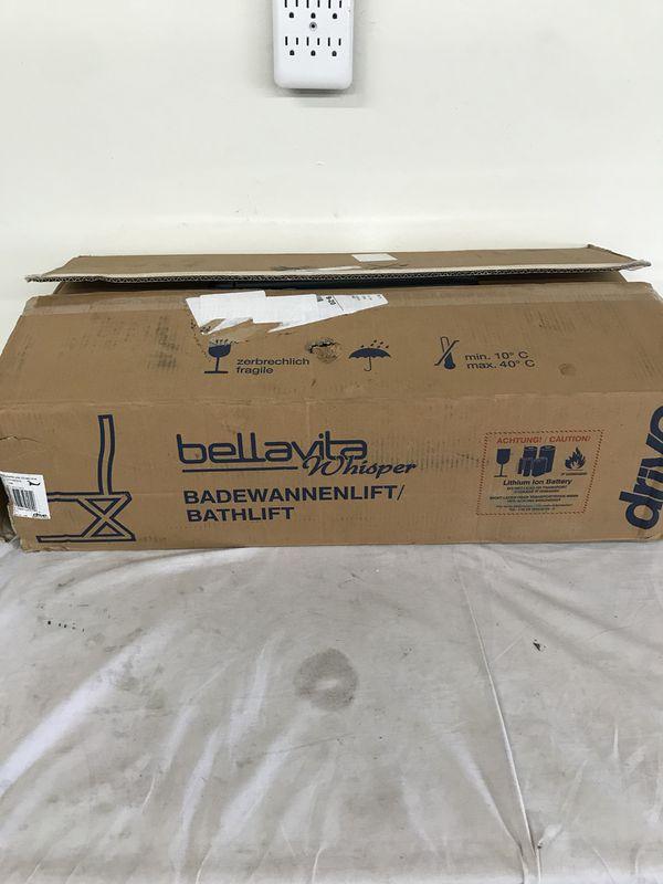 Drive Bellavita Whisper Ultra Quiet Medical Bath Lift for Sale in ...