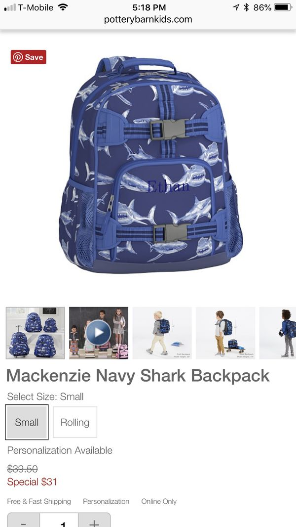 Pottery Barn Kids Backpack For Sale In Buda TX