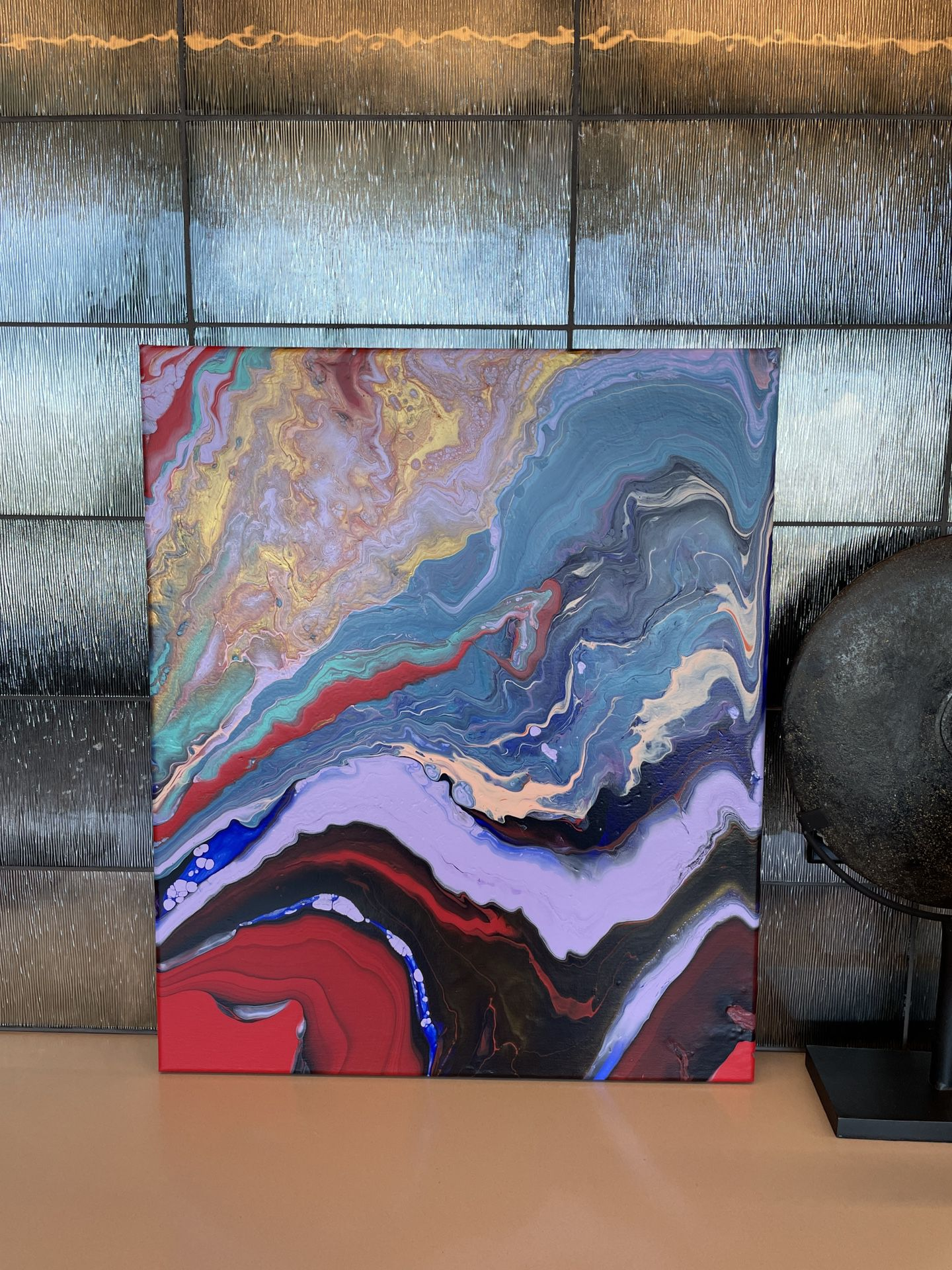 Mystic groove - Painting