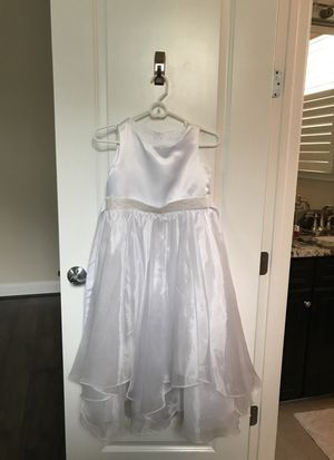Wedding flower girl dress size 12 youth for Sale in Ashburn, VA