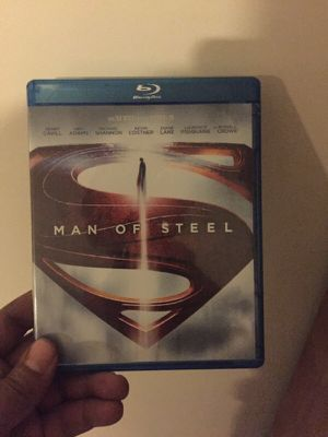 Man of steel blue ray for Sale in Columbus, OH