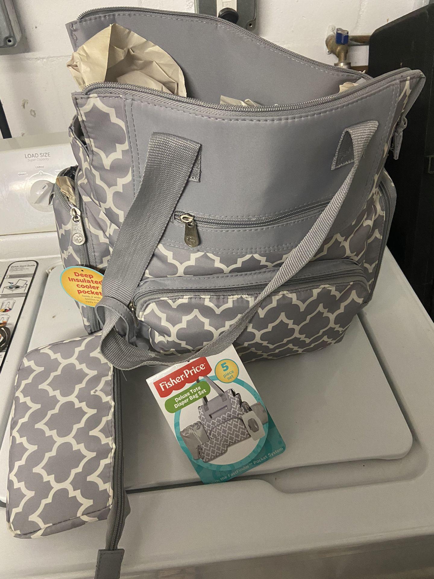 Fisher Price Deluxe Diaper Bag