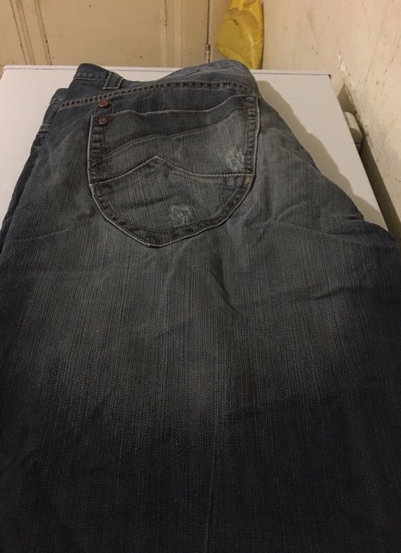 Big and tall men's jeans