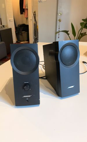 Bose desk speakers for Sale in Chicago, IL