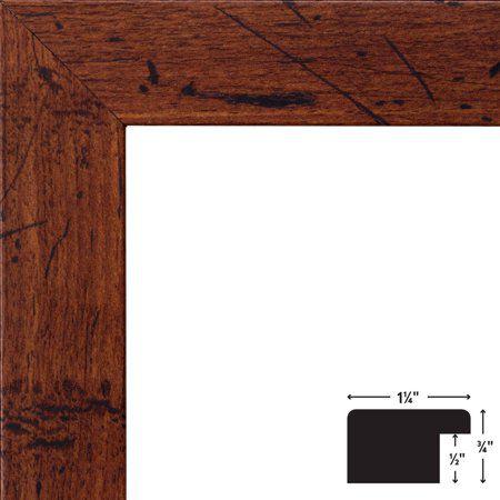 Craig Frames Bauhaus Modern Dark Walnut Picture Frame 32x24 Sku