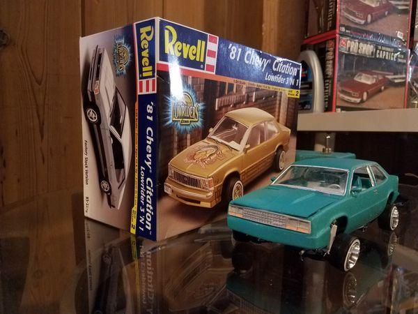 Revell 81 Chevy Malibu Model Car Kit On Hydraulics